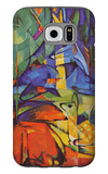 Deer in Forest Galaxy S6 Case by Franz Marc
