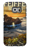 Pfeiffer Beach, California Galaxy S6 Edge Case by  Lantern Press