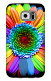 Rainbow Flower Galaxy S6 Case by Magda Indigo