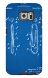 Paper Clip Patent Galaxy S6 Edge Case