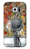 """Art Connoisseur"", January 13,1962 Galaxy S6 Case by Norman Rockwell"