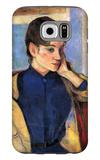 Madeleine Bernard Galaxy S6 Case by Paul Gauguin