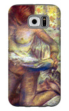 Kneeling Woman Galaxy S6 Case by Edgar Degas