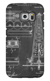Drilling Rig Patent Galaxy S6 Edge Case