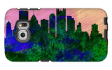 Pittsburgh City Skyline Galaxy S6 Edge Case by  NaxArt