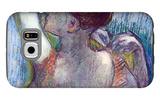 The Green Dancer Galaxy S6 Case by Edgar Degas