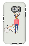 Fashionable Hipster Deer Galaxy S6 Edge Case by  run4it