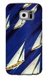 """Sailboat Regatta,"" June 29, 1940 Galaxy S6 Case by Ski Weld"