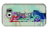 Ferrari Testa Rossa Watercolor 2 Galaxy S6 Case by  NaxArt
