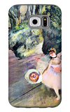 Dancer with a Bouquet of Flowers (The Star of the Ballet) Galaxy S6 Case by Edgar Degas