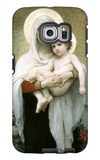 The Madonna of the Roses Galaxy S6 Edge Case by William Adolphe Bouguereau