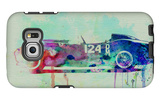 Ferrari Testa Rossa Watercolor 2 Galaxy S6 Edge Case by  NaxArt