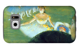 Dancer with a Bouquet Galaxy S6 Case by Edgar Degas