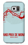 Monaco Grand Prix 3 Galaxy S6 Case by  NaxArt