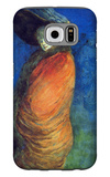 Red Overcoat Galaxy S6 Case by Henry Somm