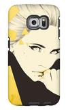 Gold Galaxy S6 Edge Case by Manuel Rebollo