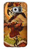 Day of the Dead - Marionettes Galaxy S6 Case by  Lantern Press