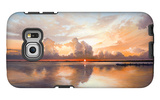 Sunset over Lake Galaxy S6 Edge Case by Bruce Nawrocke