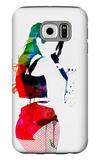 Iggy Watercolor Galaxy S6 Case by Lora Feldman