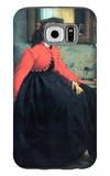 Portrait of Mme. L.L. Galaxy S6 Case by James Tissot