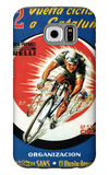 Bicycle Racing Promotion Galaxy S6 Case by  Lantern Press