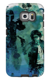 Star Warriors Watercolor 2 Galaxy S6 Edge Case by Anna Malkin