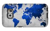 World  Map 10 Galaxy S6 Edge Case by  NaxArt