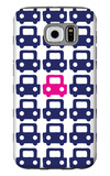 Pink Parking Lot Galaxy S6 Case by  Avalisa