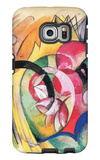 Colored Flowers Galaxy S6 Edge Case by Franz Marc