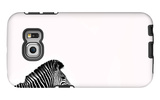 Zebra Isolated Galaxy S6 Edge Case by  Donvanstaden