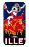 Kina Lillet Vintage Poster - Europe Galaxy S6 Case by  Lantern Press