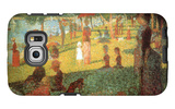 A Sunday on La Grande Jatte Galaxy S6 Edge Case by Georges Seurat