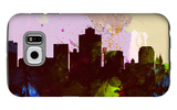 Salt Lake City Skyline Galaxy S6 Case by  NaxArt