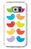 Rainbow Kiss Galaxy S6 Case by  Avalisa