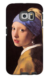 The Girl with the Pearl Earring Galaxy S6 Edge Case by Jan Vermeer