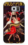 Ramos Pinto Vintage Poster - Europe Galaxy S6 Case by  Lantern Press