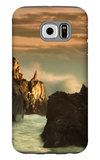 Light Splash at Big Sur Galaxy S6 Case by Vincent James