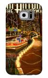 The Riverwalk - San Antonio, Texas Galaxy S6 Case by  Lantern Press