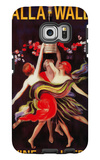 Women Dancing with Wine - Walla Walla, Washington Galaxy S6 Edge Case by  Lantern Press