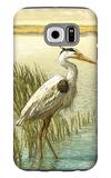 White Crane Galaxy S6 Case