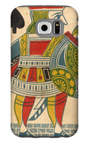 Jack of Spades Card Galaxy S6 Case