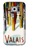 Valais, Switzerland - The Land of Sunshine Galaxy S6 Case by  Lantern Press