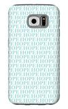 Aqua Hope Galaxy S6 Case by  Avalisa