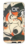 Composition with Two Deer Galaxy S6 Edge Case by Franz Marc