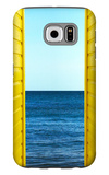 2 Yellow Beach Huts Galaxy S6 Case by Andy Bell