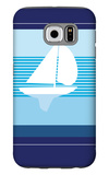 Navy Sail Galaxy S6 Case by  Avalisa