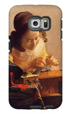 The Lacemaker Galaxy S6 Edge Case by Jan Vermeer