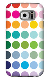 Rainbow Dots Galaxy S6 Case by  Avalisa
