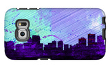 Anchorage City Skyline Galaxy S6 Edge Case by  NaxArt