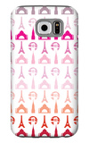 Pink Travel Architecture Galaxy S6 Case by  Avalisa